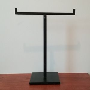 Necklace Stand - Black Metal
